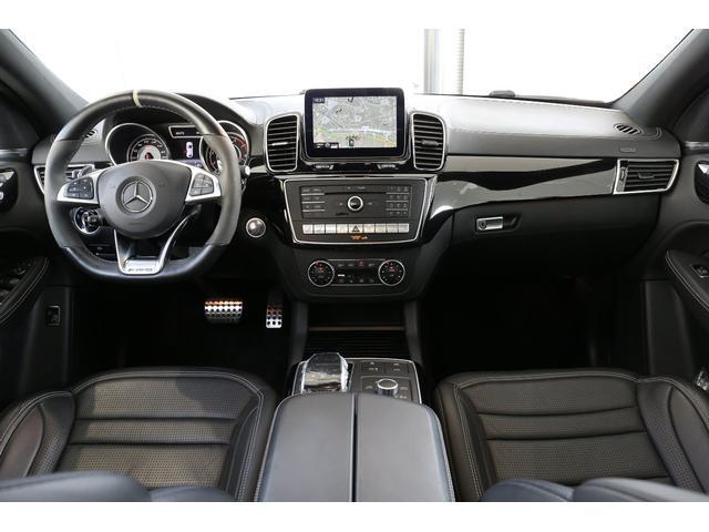 GLE63 S 4マチック クーペ 認定中古車/レーダーセーフティパッケージ/パノラミックスライディングルーフ/本革シート/シートエアコン/シートヒーター(5枚目)
