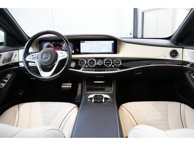 S450エクスクルーシブ AMGライン ダイヤモンドホワイト 白レザーシート 左ハンドル 20インチAMG10スポークアルミ シートベンチレーター(5枚目)