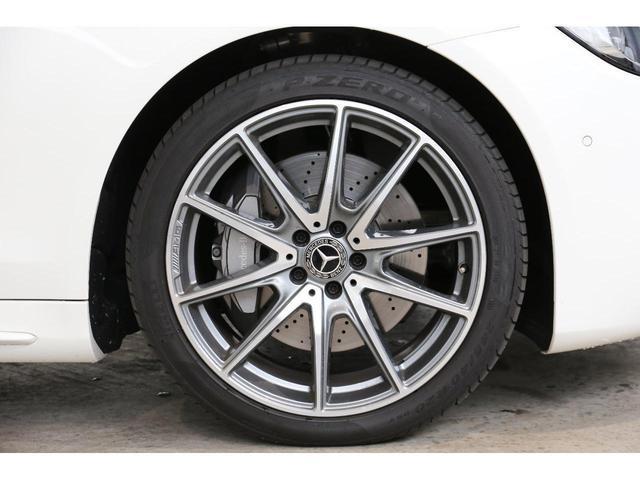 S450エクスクルーシブ AMGライン ダイヤモンドホワイト 白レザーシート 左ハンドル 20インチAMG10スポークアルミ シートベンチレーター(10枚目)