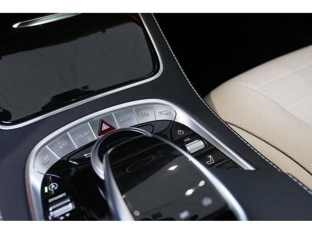 S450エクスクルーシブ AMGライン ダイヤモンドホワイト 白レザーシート 左ハンドル 20インチAMG10スポークアルミ シートベンチレーター(18枚目)