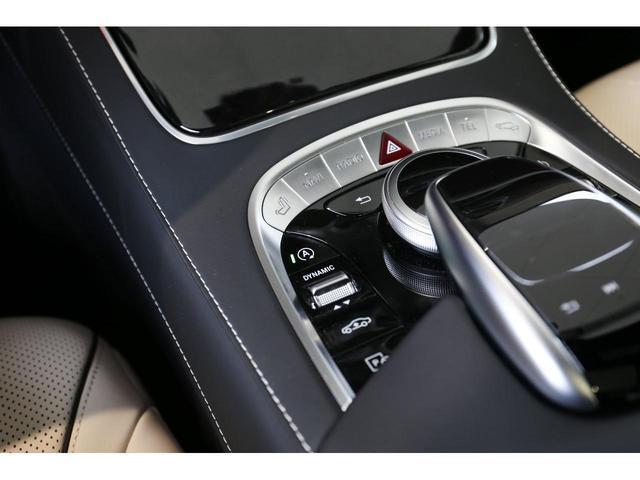 S450エクスクルーシブ AMGライン ダイヤモンドホワイト 白レザーシート 左ハンドル 20インチAMG10スポークアルミ シートベンチレーター(19枚目)