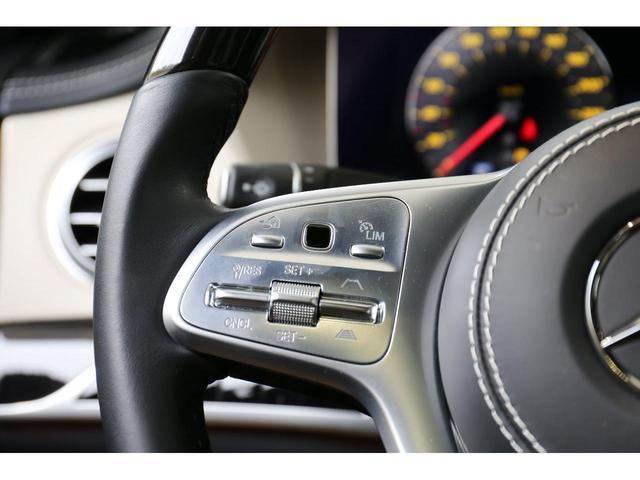 S450エクスクルーシブ AMGライン ダイヤモンドホワイト 白レザーシート 左ハンドル 20インチAMG10スポークアルミ シートベンチレーター(28枚目)