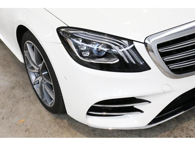 S450エクスクルーシブ AMGライン ダイヤモンドホワイト 白レザーシート 左ハンドル 20インチAMG10スポークアルミ シートベンチレーター(33枚目)