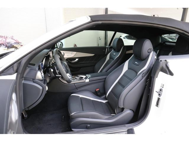 C63 Sカブリオレ 認定中古車 黒幌 レーダーセーフティパッケージ AMGカーボンパッケージ ヘッドアップディスプレイ Burmesterサラウンドサウンドシステム(8枚目)