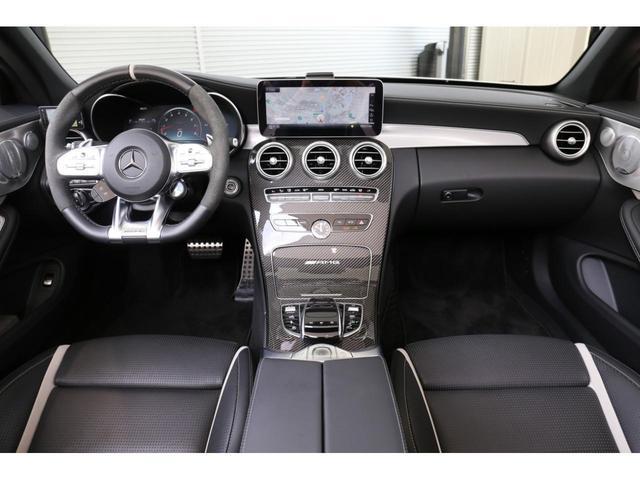C63 Sカブリオレ 認定中古車 黒幌 レーダーセーフティパッケージ AMGカーボンパッケージ ヘッドアップディスプレイ Burmesterサラウンドサウンドシステム(12枚目)