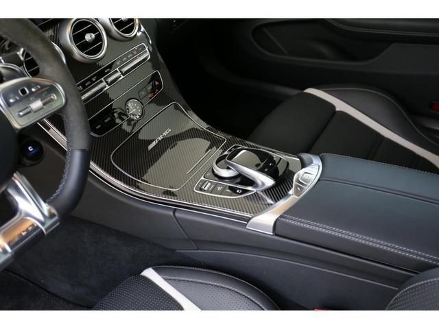 C63 Sカブリオレ 認定中古車 黒幌 レーダーセーフティパッケージ AMGカーボンパッケージ ヘッドアップディスプレイ Burmesterサラウンドサウンドシステム(26枚目)