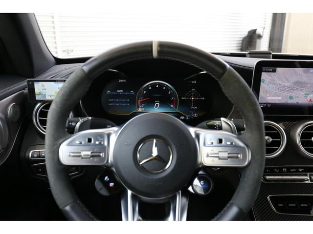 C63 Sカブリオレ 認定中古車 黒幌 レーダーセーフティパッケージ AMGカーボンパッケージ ヘッドアップディスプレイ Burmesterサラウンドサウンドシステム(28枚目)