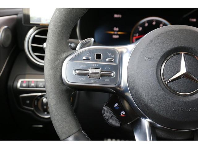 C63 Sカブリオレ 認定中古車 黒幌 レーダーセーフティパッケージ AMGカーボンパッケージ ヘッドアップディスプレイ Burmesterサラウンドサウンドシステム(31枚目)