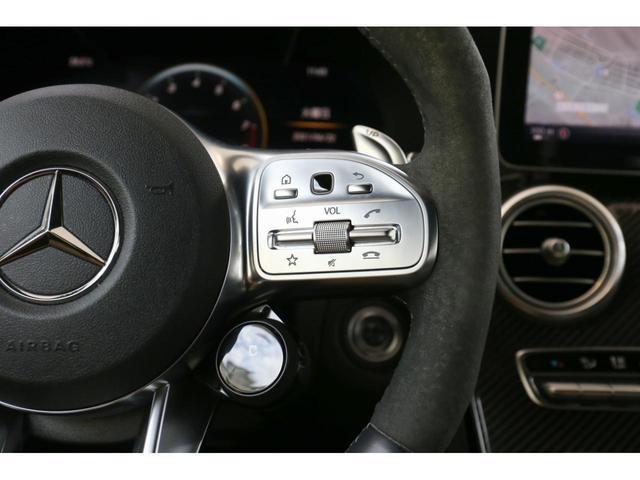 C63 Sカブリオレ 認定中古車 黒幌 レーダーセーフティパッケージ AMGカーボンパッケージ ヘッドアップディスプレイ Burmesterサラウンドサウンドシステム(32枚目)