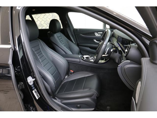 E220dステションワゴンアバンGスポツ(本革仕様) 本革シート(ナッパレザー) レーダーセーフティパッケージ 360°カメラ シートヒーター AMGスタイリングパッケージ エアバランスパッケージ 64色アンビエントライト 認定中古車 禁煙車(6枚目)