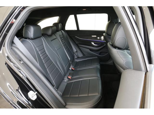 E220dステションワゴンアバンGスポツ(本革仕様) 本革シート(ナッパレザー) レーダーセーフティパッケージ 360°カメラ シートヒーター AMGスタイリングパッケージ エアバランスパッケージ 64色アンビエントライト 認定中古車 禁煙車(7枚目)