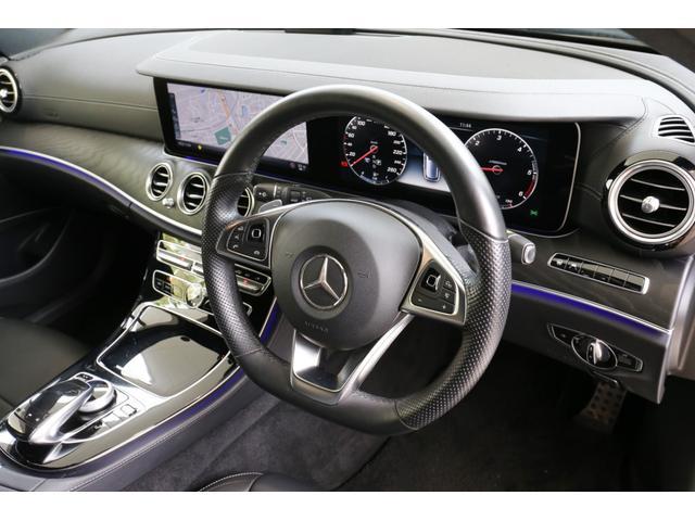 E220dステションワゴンアバンGスポツ(本革仕様) 本革シート(ナッパレザー) レーダーセーフティパッケージ 360°カメラ シートヒーター AMGスタイリングパッケージ エアバランスパッケージ 64色アンビエントライト 認定中古車 禁煙車(19枚目)