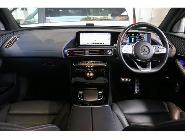 EQC400 4マチック AMGライン Brumesterサラウンドサウンドシステム AMGライン レーダーセーフティパッケージ MBUX 360°カメラ ガラススライディングルーフ ヘッドアップディスプレイ アンビエントライト 認定中古車(5枚目)