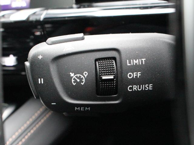 アクティブクルーズコントロールは、0km/hまでの追従機能型でリスタートも行います。
