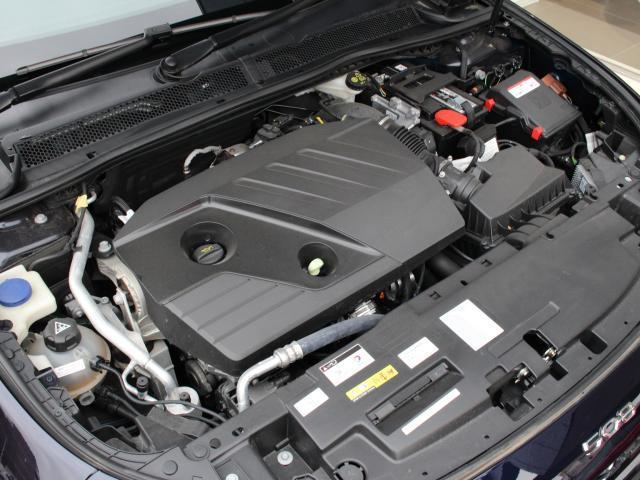 パワーと優れた環境性を併せ持つ2.0L直列4気筒DOHCターボディーゼル