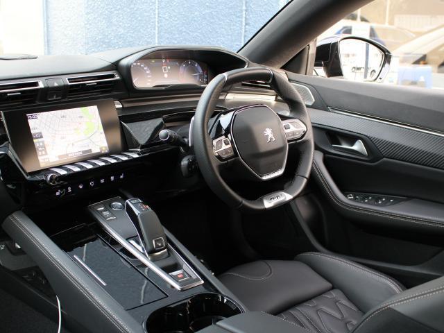 GT ブルーHDi フルパッケージ(レザーシート/サンルーフ/ナイトビジョン) 純正ナビ ETC2.0 AppleCarPlay/AndroidAuto ドラレコ前後 ACC レーンポジショニングアシスト(3枚目)