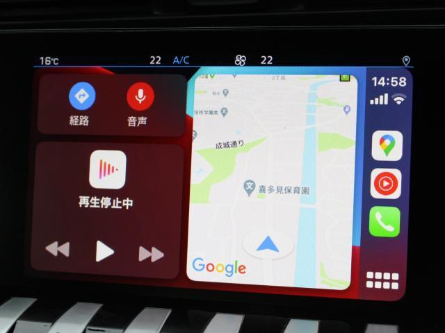 GT ブルーHDi フルパッケージ(レザーシート/サンルーフ/ナイトビジョン) 純正ナビ ETC2.0 AppleCarPlay/AndroidAuto ドラレコ前後 ACC レーンポジショニングアシスト(4枚目)