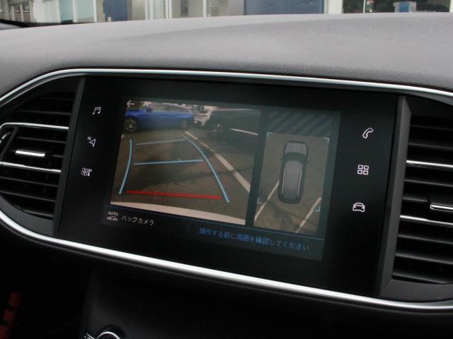 SW GT ブルーHDi 純正ナビ ETC 前後ドラレコ ワイドバックカメラ AppleCarPlay/AndoroidAuto アクティブクルーズコントロール レーンキープアシスト アクティブセーフティブレーキ 18AW(8枚目)