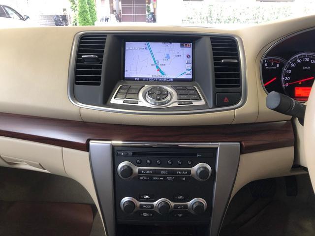 ミツオカ ガリュー 25LXメイクアップ車ナビETC電動シート助手席オットマン