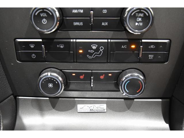 V6 プレミアム 2013yモデル 正規ディーラー車 ブラウン革シート シートヒーター SYNC USB Bluetooth バックカメラ 純正クローム18AW 車高調サス キーレスエントリー(13枚目)