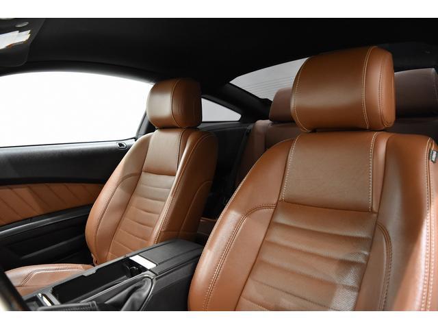 V6 プレミアム 2013yモデル 正規ディーラー車 ブラウン革シート シートヒーター SYNC USB Bluetooth バックカメラ 純正クローム18AW 車高調サス キーレスエントリー(22枚目)