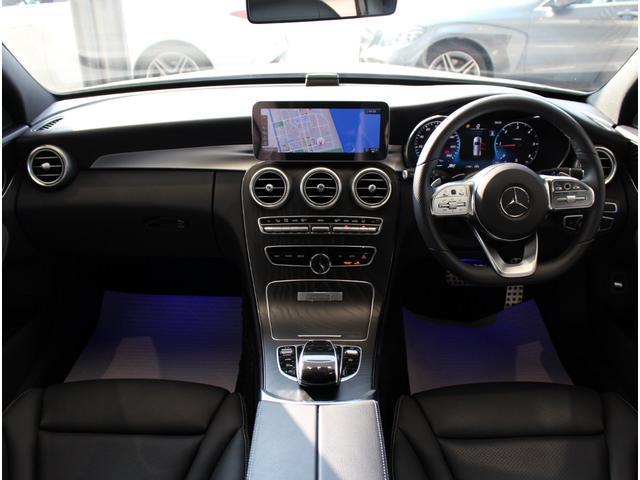 C220d ステーションワゴンローレウスエディション ダイヤモンンドホワイト AMGスポーツプラスパッケージ 認定中古車保証付き(5枚目)