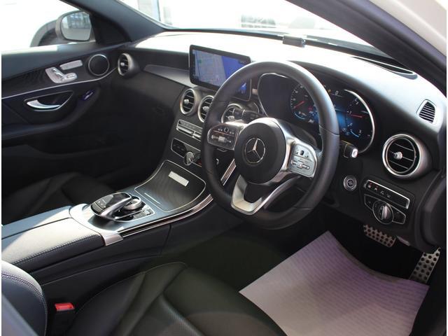 C220d ステーションワゴンローレウスエディション ダイヤモンンドホワイト AMGスポーツプラスパッケージ 認定中古車保証付き(6枚目)