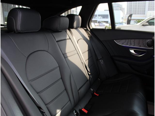 C220d ステーションワゴンローレウスエディション ダイヤモンンドホワイト AMGスポーツプラスパッケージ 認定中古車保証付き(11枚目)