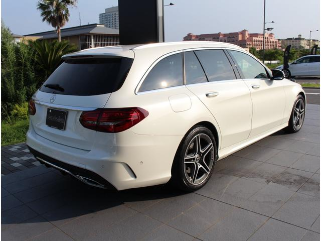 C220d ステーションワゴンローレウスエディション ダイヤモンンドホワイト AMGスポーツプラスパッケージ 認定中古車保証付き(22枚目)