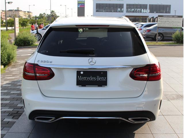 C220d ステーションワゴンローレウスエディション ダイヤモンンドホワイト AMGスポーツプラスパッケージ 認定中古車保証付き(23枚目)