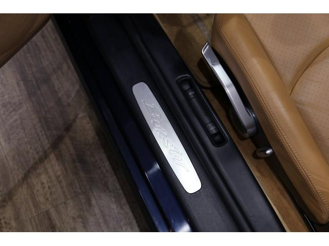 ボクスター スポ-ツPKG 6MT スポクロ D整備済 革席(17枚目)