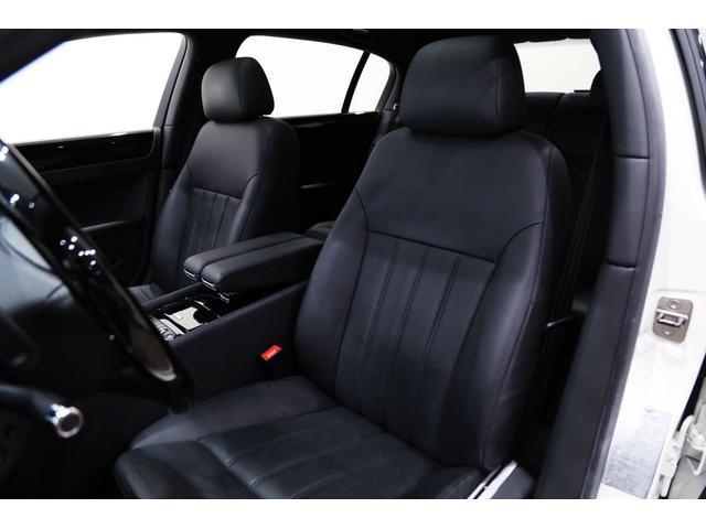 正規ディーラー車 2009年モデル Bentley コンチネンタルフライングスパー 左ハンドル グラッシャーホワイト/ブラックレザー