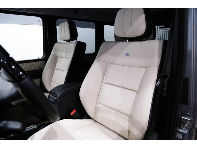 正規ディーラー車 M-Benz G550ロング エディションセレクト  左ハンドル パラディウムシルバー/ポーセレン&ブラック・ツートンdesignoレザー