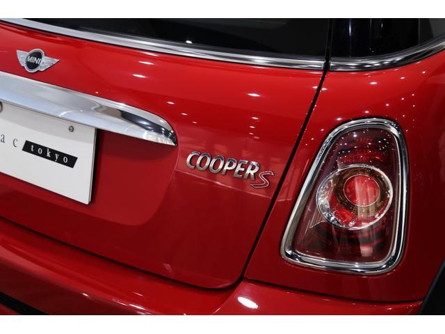 クーパーS 1オーナー 後期型 コントラストルーフ・ドアミラー ナビ地デジ R56 オートライト ドアバイザー マッドガード アイドリングストップ スポーツモード キセノン(50枚目)