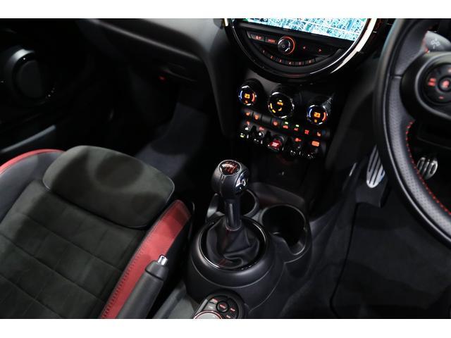 ジョンクーパーワークス 1オーナー 6MT マニュアル トラックスタイル TLC5年サービスパッケージ付 カメラ&パーキングアシストパッケージ アダプティブサスペンション シートヒーター プライバシーガラス(71枚目)