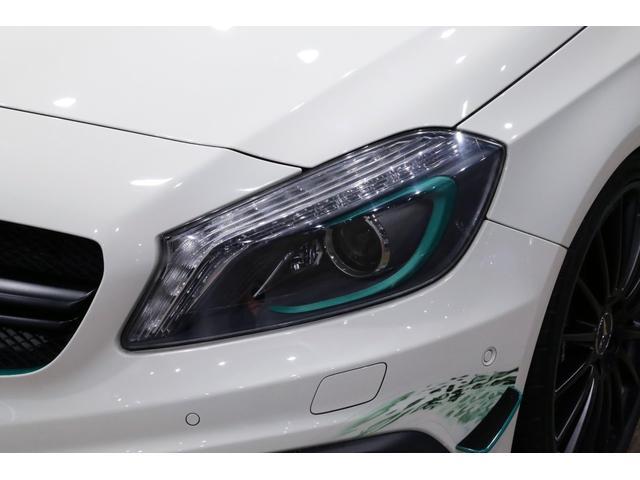 A45AMG4マチックペトロナスグリーンエディション 特別仕様車/限定30台/専用装備/AMGパフォーマンススタジオ/F1チーム/メルセデスAMGペトロナスフォーミュラーワン/専用デカール/アルカンターラステア/カーボンインテリア/19インチアルミ/(36枚目)
