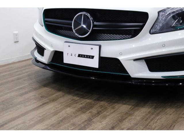 A45AMG4マチックペトロナスグリーンエディション 特別仕様車/限定30台/専用装備/AMGパフォーマンススタジオ/F1チーム/メルセデスAMGペトロナスフォーミュラーワン/専用デカール/アルカンターラステア/カーボンインテリア/19インチアルミ/(39枚目)