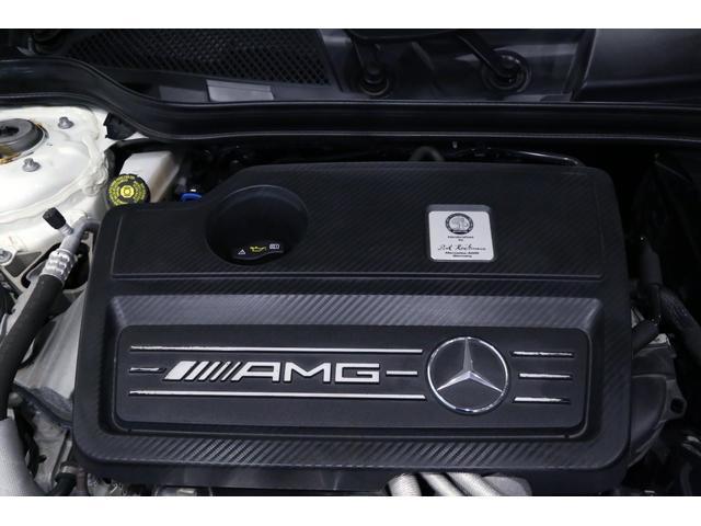 A45AMG4マチックペトロナスグリーンエディション 特別仕様車/限定30台/専用装備/AMGパフォーマンススタジオ/F1チーム/メルセデスAMGペトロナスフォーミュラーワン/専用デカール/アルカンターラステア/カーボンインテリア/19インチアルミ/(40枚目)