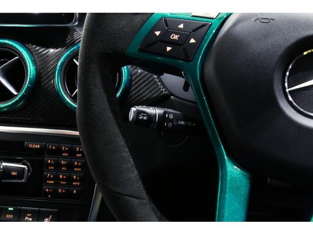 A45AMG4マチックペトロナスグリーンエディション 特別仕様車/限定30台/専用装備/AMGパフォーマンススタジオ/F1チーム/メルセデスAMGペトロナスフォーミュラーワン/専用デカール/アルカンターラステア/カーボンインテリア/19インチアルミ/(80枚目)