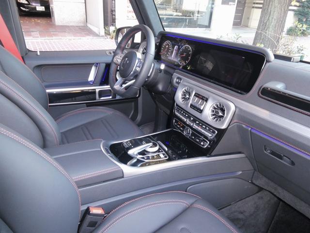 G550 AMGライン 2020年 走行0.5万km 屋内保管禁煙車両 MBケア令和5年3月迄(延長可 ) 液晶レーダー探知機&前後ドライブレコーダー(駐車監視モード付)  ボディコーティング&ホイールコーティング施工済(57枚目)