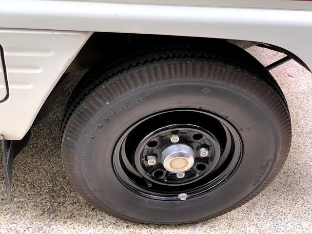 10インチのヨコハマタイヤ製バイアスタイヤを新調しました。