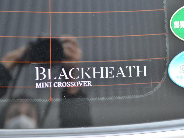 クーパーS クロスオーバー ブラックヒース 認定中古車 ワンオーナー 地デジ付 タッチ式HDDナビ LEDヘッドライト バックカメラ ACC  アラームシステム Dアシスト 18インチAW(52枚目)