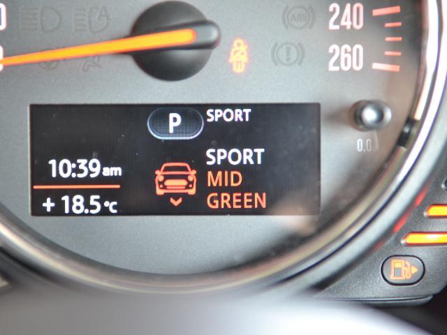 クーパーS クラブマン 認定中古車 ワンオーナー HDDナビ LEDヘッドライト バックカメラ ドライビングモード Dアシスト 17インチ黒AW(40枚目)