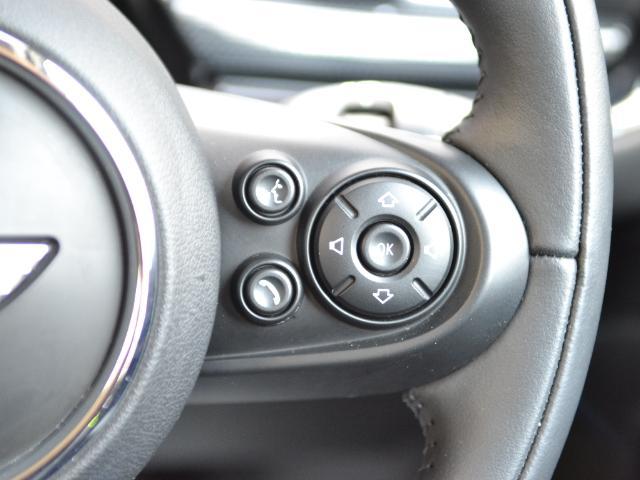 クーパーD クラブマン 認定中古車 ワンオーナー HDDナビ LEDヘッドライト バックカメラ 17インチブラックAW(31枚目)