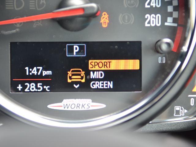 ジョンクーパーワークス クロスオーバー 認定中古車 ワンオーナー 地デジ ハーマンカードンオーディオ タッチ式HDDナビ LEDヘッドライト バックカメラ シートヒーター 19インチAW ドラレコ(42枚目)