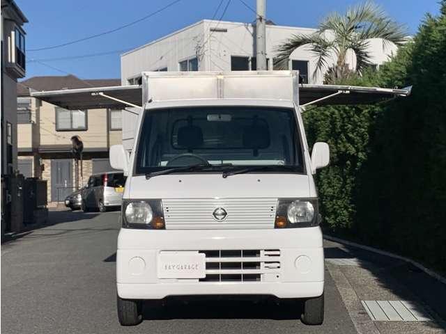 660 DX 移動販売車ステンレス3方向開 外部電源接続(20枚目)