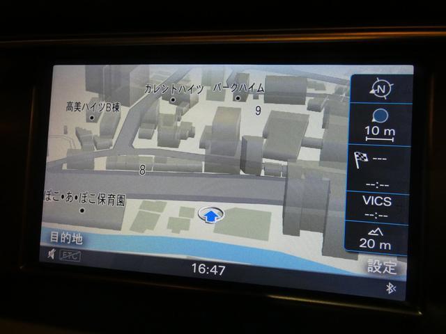 純正HDDナビゲーションシステムを搭載!地デジの視聴やBluetoothオーディオ接続等も可能です!