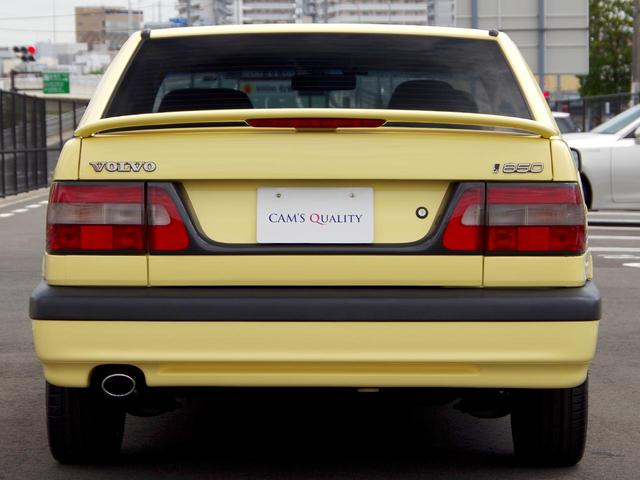 ボルボ ボルボ 850 T-5R 憧れの黄色いボルボを復活、走行64000Km希少車