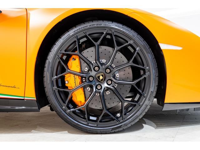 ■20インチAW(マットブラック塗装)■オレンジブレーキキャリパー