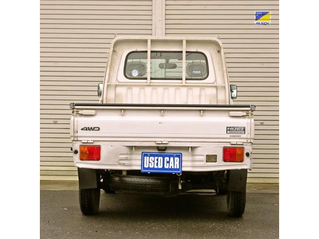 スペシャル 4WD MT 白 ラジオ付き(6枚目)